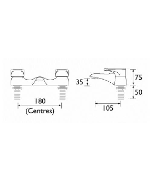 Technical drawing 1123 / JU BF C
