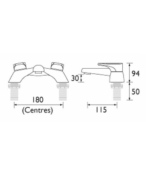 Technical drawing 1124 / JU PBF C