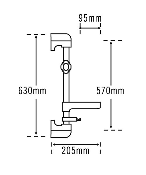 Technical drawing 11505 / 834C
