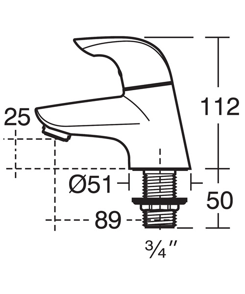 Technical drawing 11532 / B7885AA