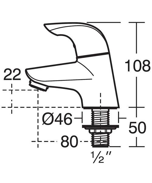 Technical drawing 11535 / B7884AA