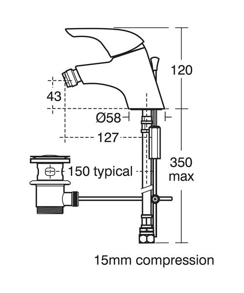 Technical drawing 11538 / B7889AA