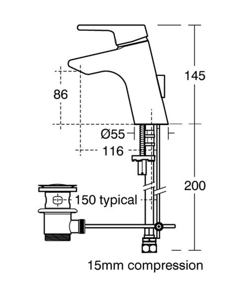 Technical drawing 11549 / B8062AA