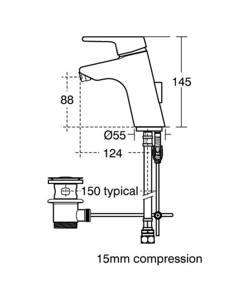 Technical drawing 11553 / B8064AA
