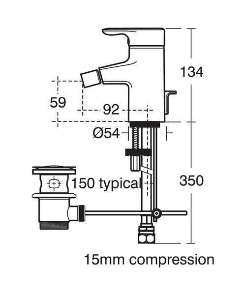 Technical drawing 11596 / E6405AA