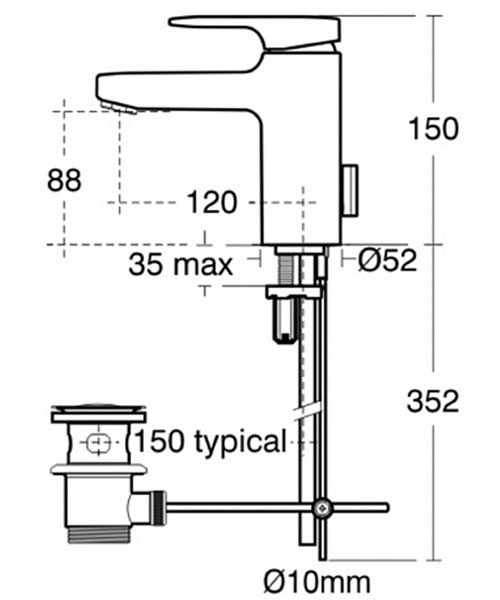 Technical drawing 11601 / A3903AA