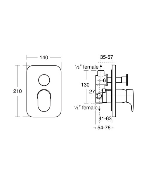 Technical drawing 11603 / A3916AA