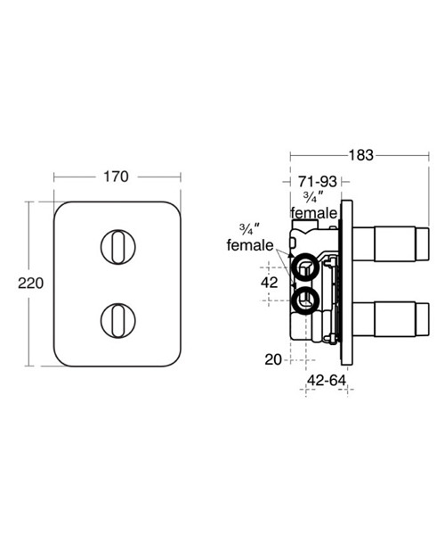 Technical drawing 11604 / A3918AA