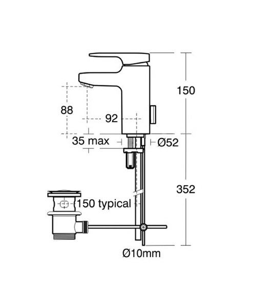 Technical drawing 11605 / A3906AA