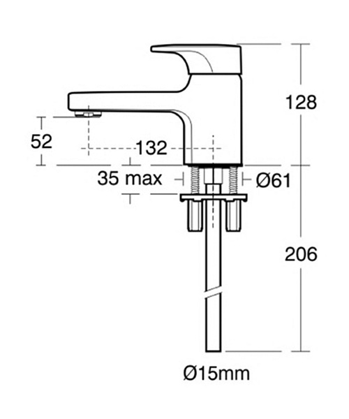 Technical drawing 11606 / A3921AA