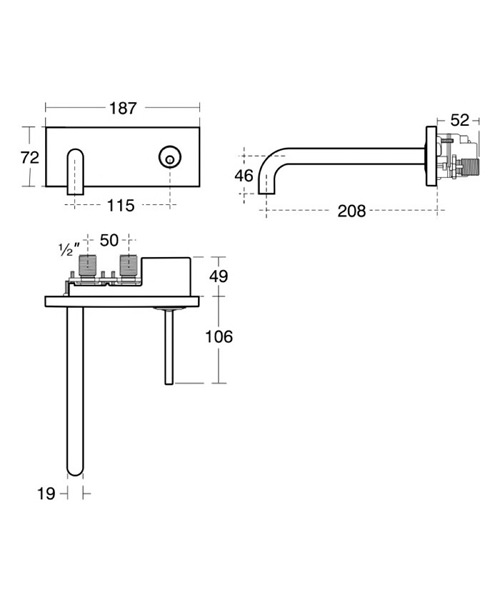 Technical drawing 11617 / A4490AA