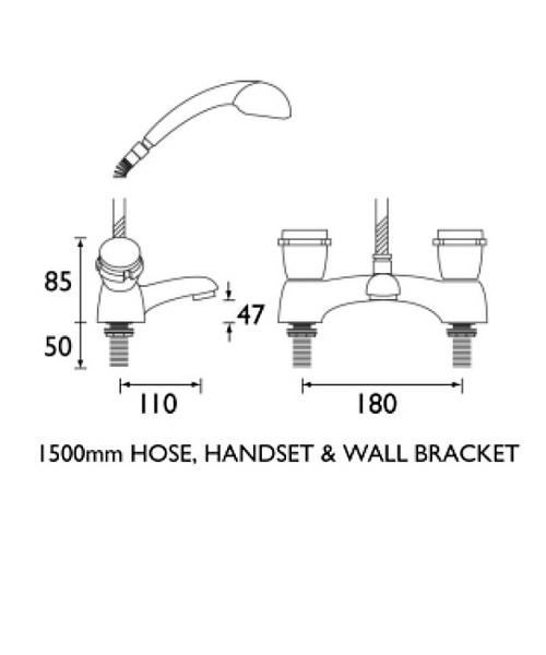 Technical drawing 1161 / ON BSM C CD