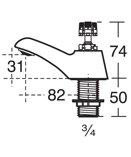 Technical drawing 11634 / B9853AA