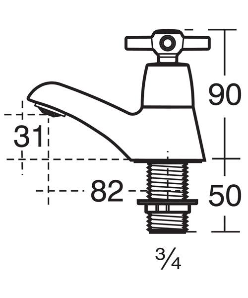 Technical drawing 11638 / B9859AA