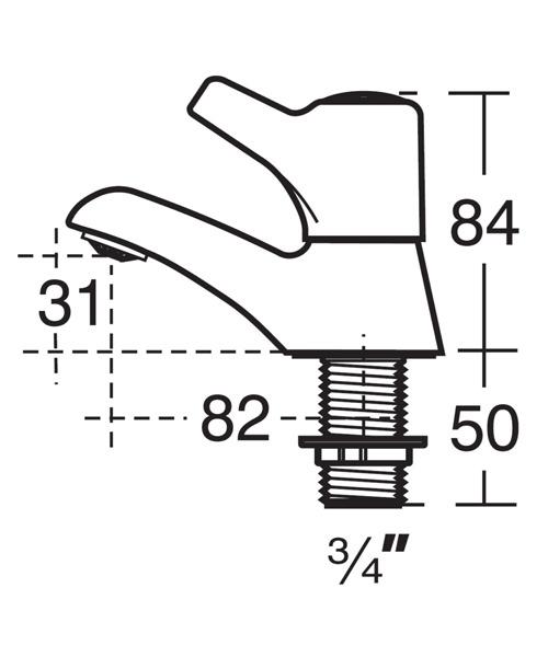 Technical drawing 11643 / B9864AA