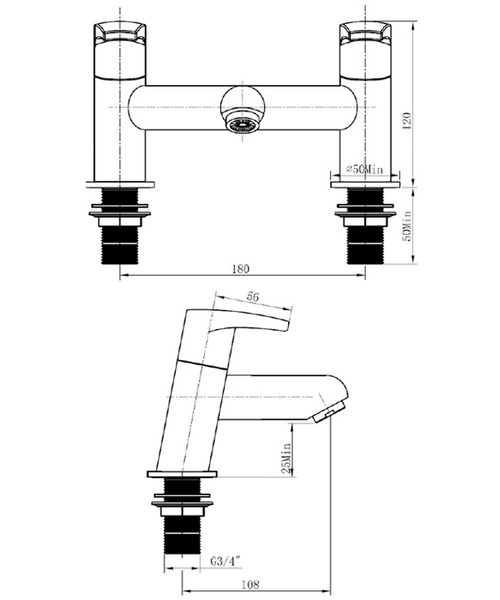 Technical drawing 1171 / OR BF C