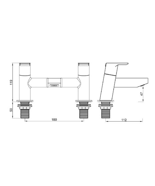 Technical drawing 1183 / PS BF C