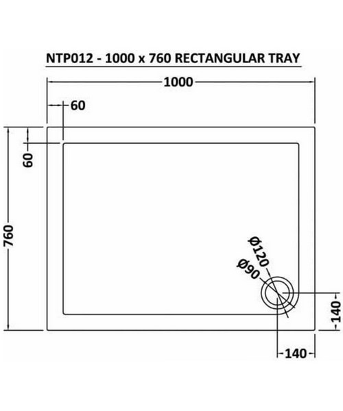 Technical drawing 11995 / NTP012