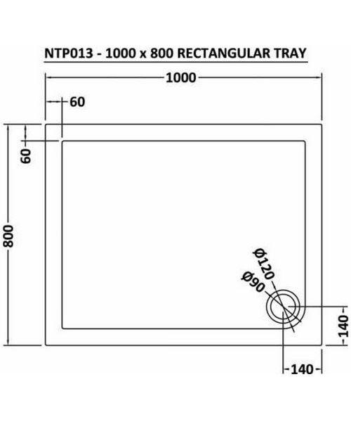 Technical drawing 11996 / NTP013