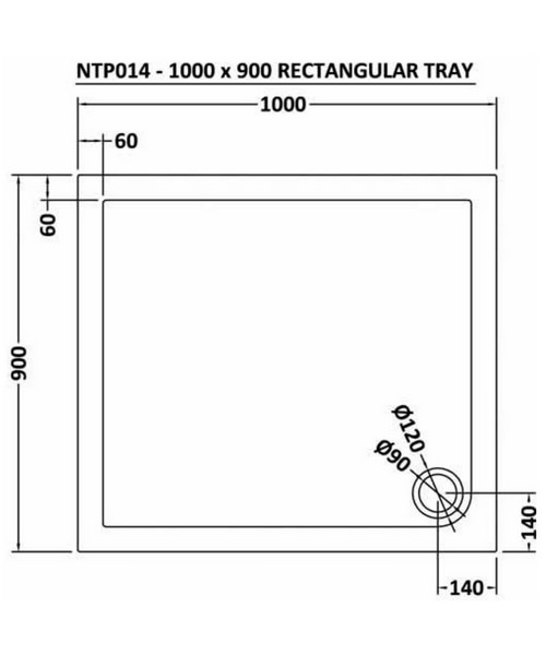 Technical drawing 11997 / NTP014