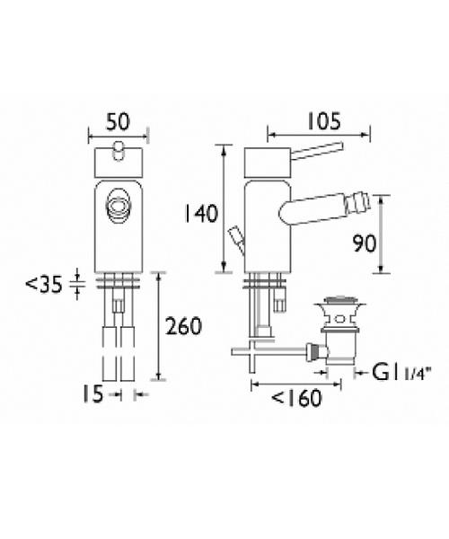 Technical drawing 1199 / PM BID C