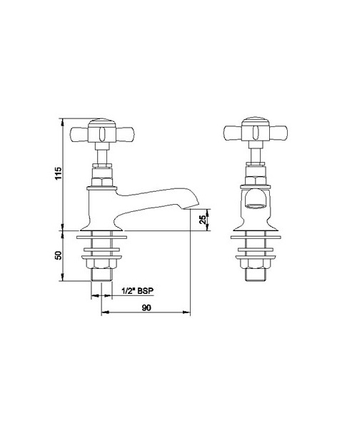Technical drawing 12030 / I321XE