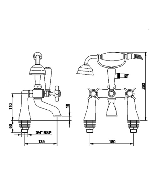 Technical drawing 12037 / I354X