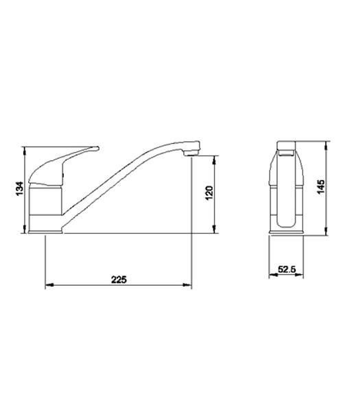 Technical drawing 12046 / KA306