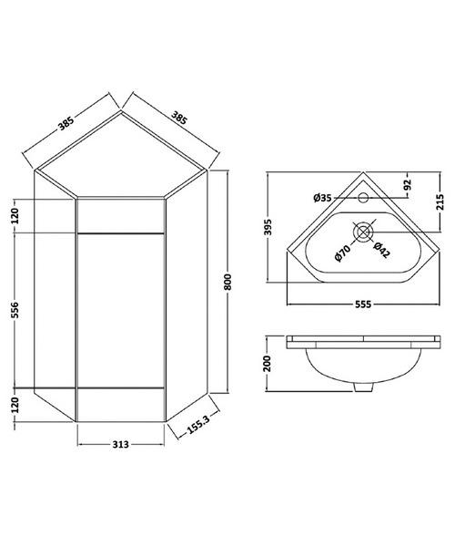 Technical drawing 12092 / CU001