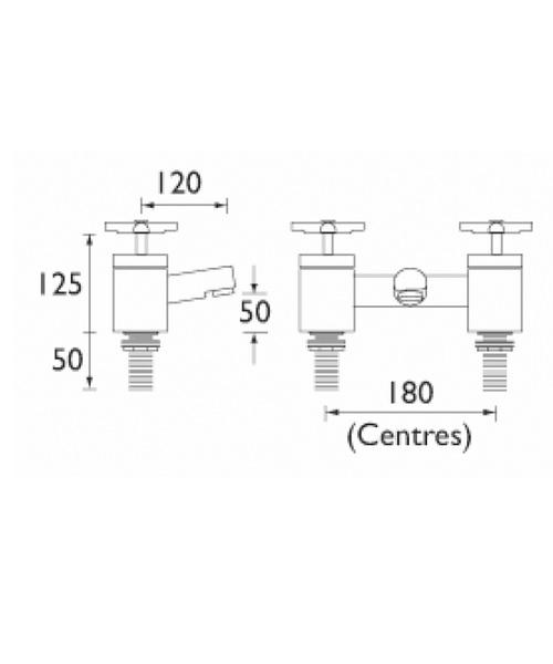 Technical drawing 1218 / QT BF C