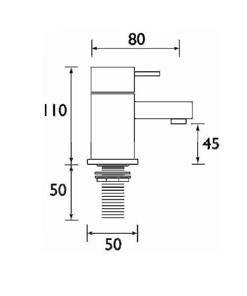 Technical drawing 1221 / QD 3/4 C