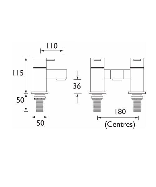 Technical drawing 1226 / QD BF C