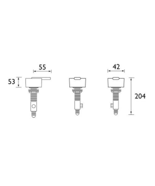 Technical drawing 1238 / QU SB C