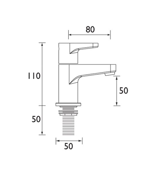 Technical drawing 1241 / QST 3/4 C