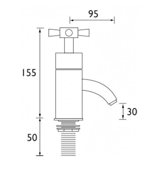Technical drawing 1248 / RO 3/4 C