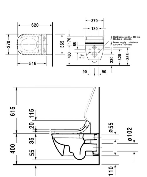 Technical drawing 12499 / 2550590000
