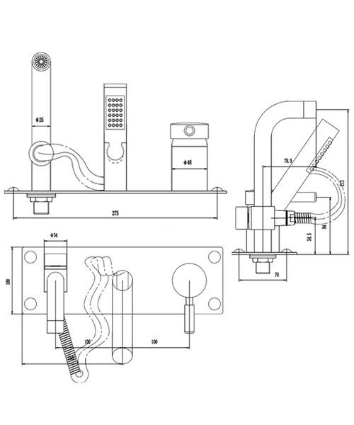 Technical drawing 12529 / PK350