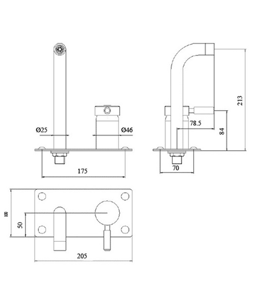 Technical drawing 12530 / PK328