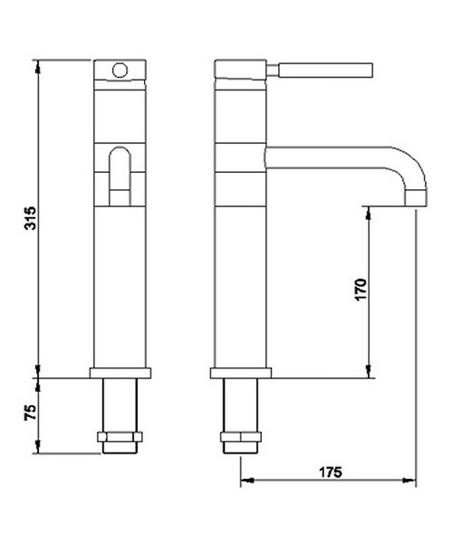 Technical drawing 12532 / PK370