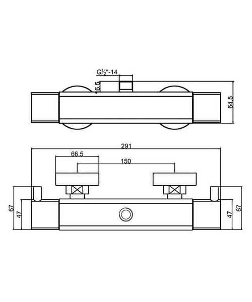 Technical drawing 12616 / A3502