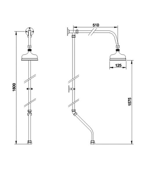 Technical drawing 12648 / AK305