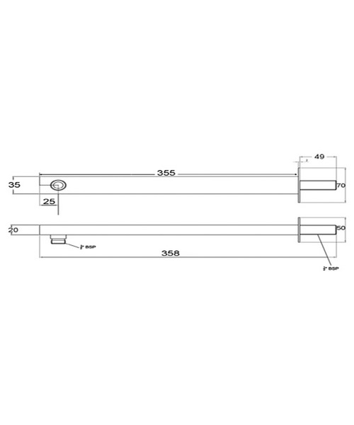 Technical drawing 12678 / ARM13