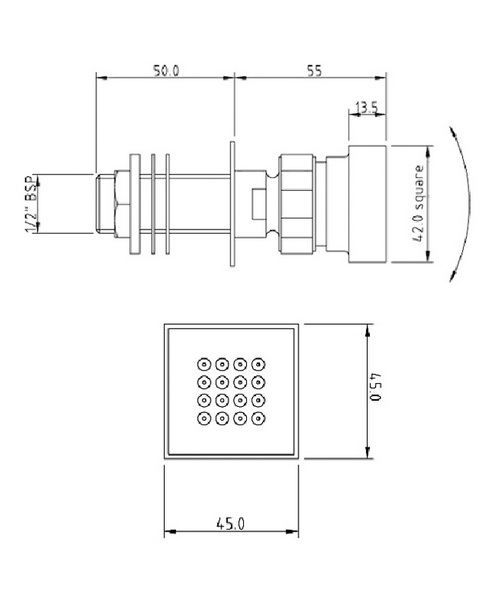 Technical drawing 12691 / A354