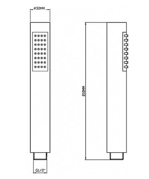 Technical drawing 12702 / HO307