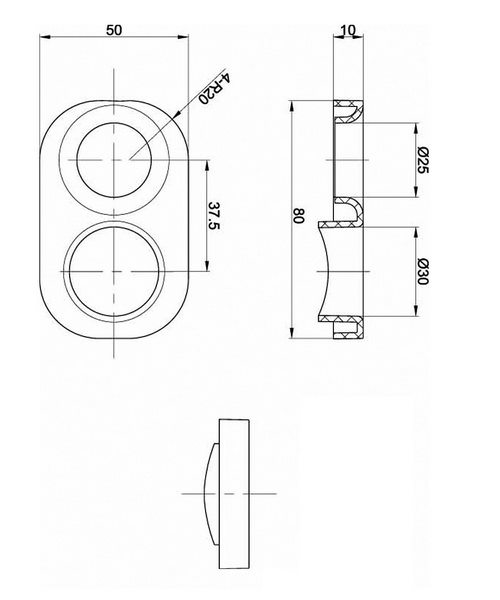 Technical drawing 12709 / CIR91