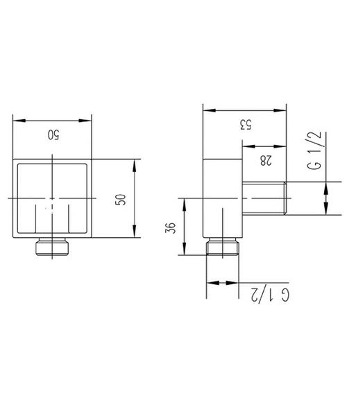 Technical drawing 12719 / A3245