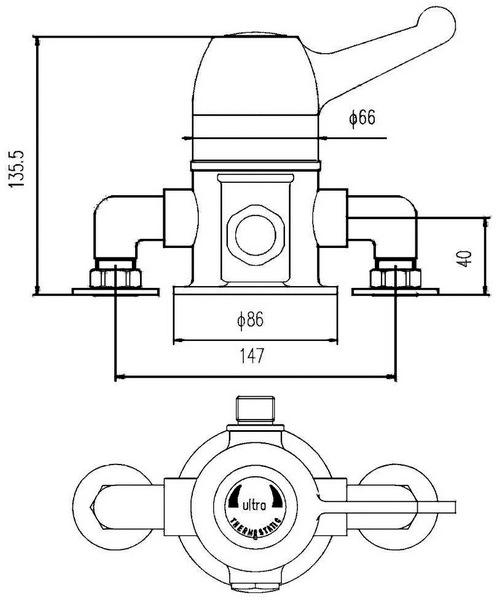 Technical drawing 12727 / VSQ2