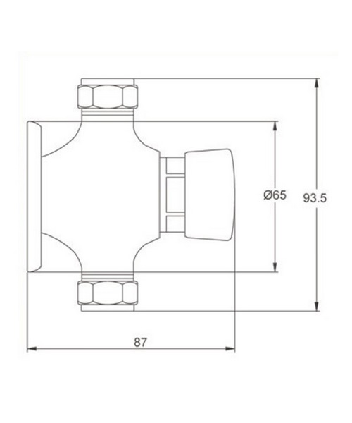 Technical drawing 12734 / A3788
