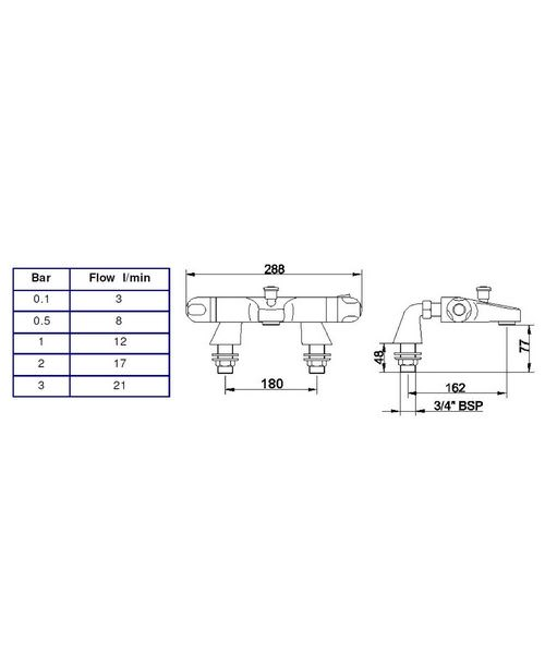 Technical drawing 12740 / CD324