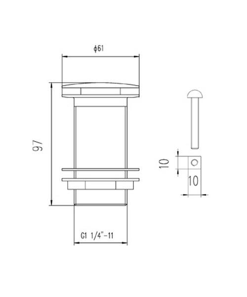 Technical drawing 12749 / EK304
